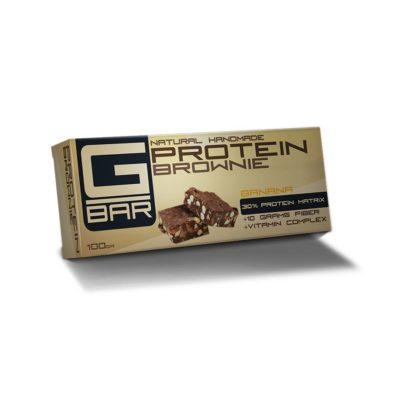 Протеинов бар G-BAR Brownie - банан